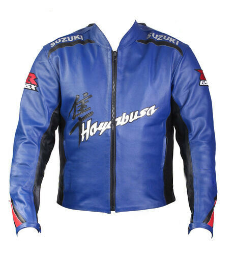 Brand New Suzuki Mens Leather Jackets Motorcycle Cowhide Suits Bikers Jackets One/Two - Store Zone-Online Shopping Store Melbourne Australia