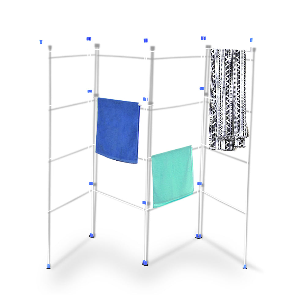 4 Fold Airer Clothes Drying Rack