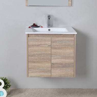 Wall Hung Bathroom Vanity Storage Cabinet 600mm