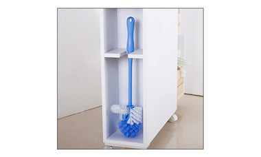Bathroom Storage Caddy Utility Toilet Cabinet