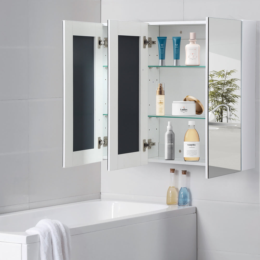 900mm X720mm Bathroom Vanity Mirror Cabinet