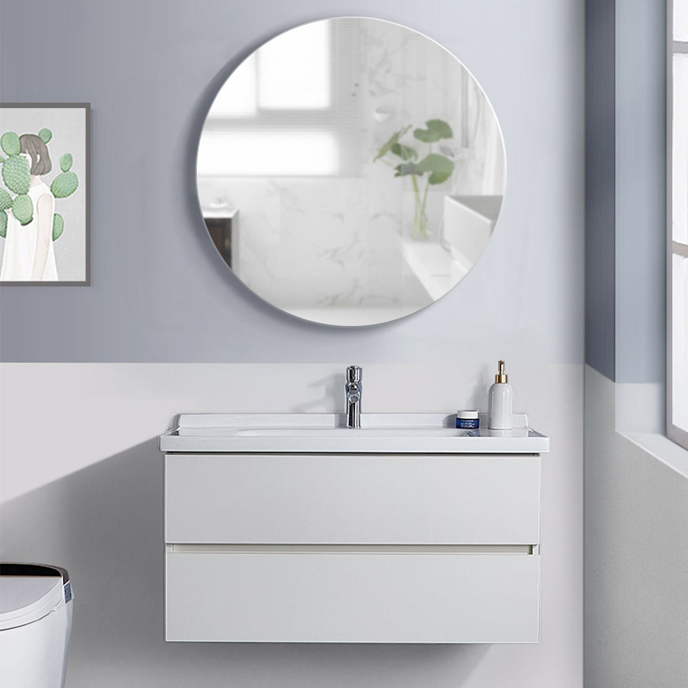 Bathroom Vanity Mirror Cabinet Storage Organiser
