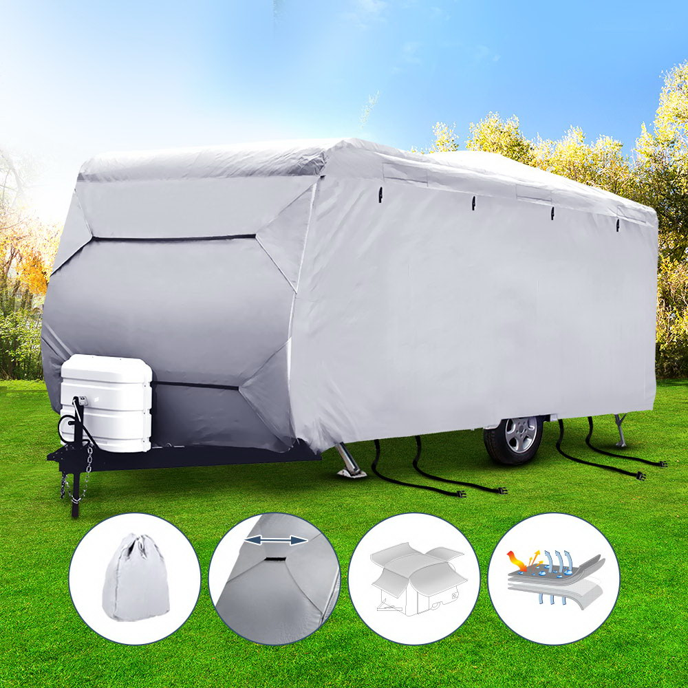 Weisshorn 22-24ft Caravan Cover Campervan 4 Layer UV Water Resistant