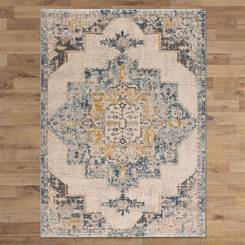 DELUXE DESIGN CREAM RUGS AREA - Store Zone-Online Shopping Store Melbourne Australia