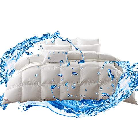 500gsm Duck Down Feather Duvet Quilt All Season King Size