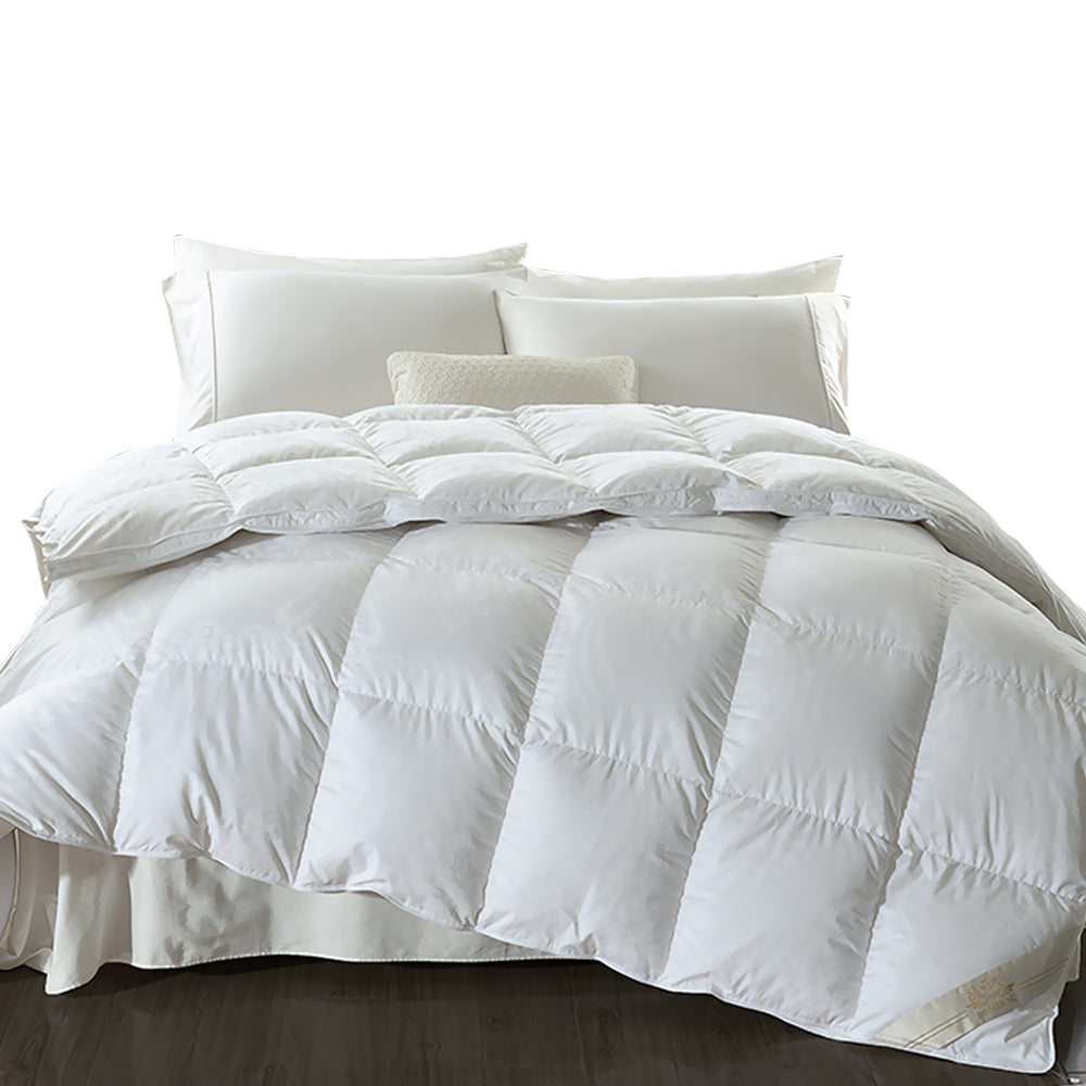 500gsm Duck Down Feather Duvet Quilt All Season King Single Size