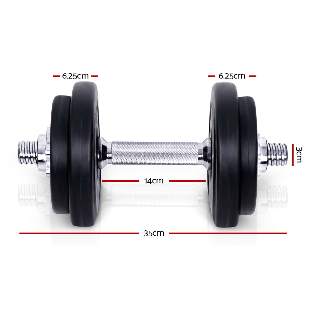 Everfit Fitness Gym Exercise Dumbbell Set 20kg