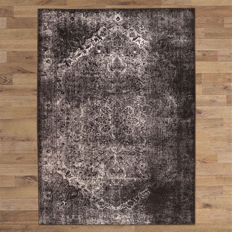 Turkish Persian DK Grey Selby Rugs - Store Zone-Online Shopping Store Melbourne Australia