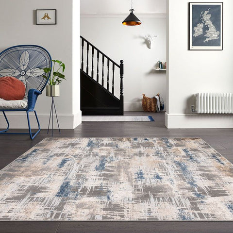 Turkish Persian Grey Fion Rugs - Store Zone-Online Shopping Store Melbourne Australia