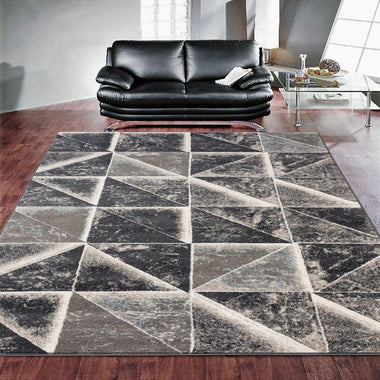 Turkish Persian Grey Haily Rugs - Store Zone-Online Shopping Store Melbourne Australia