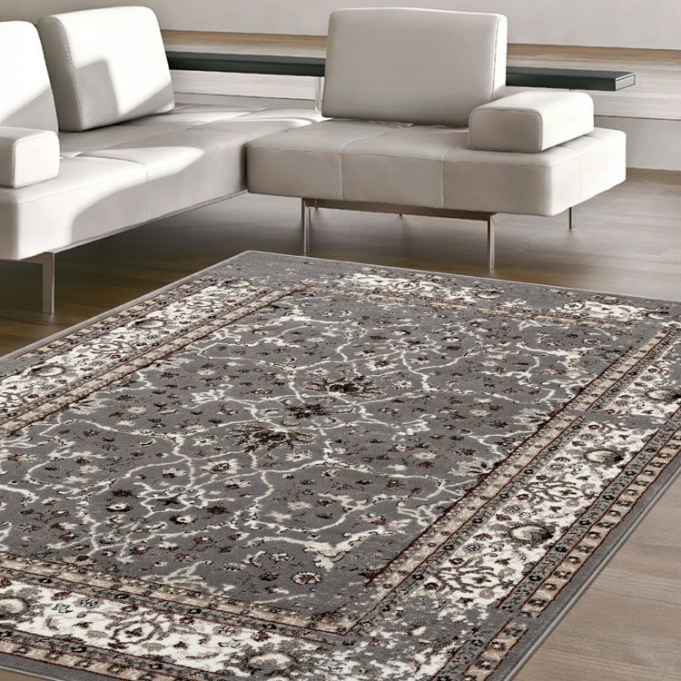 Turkish Persian Grey Berlin Rugs - Store Zone-Online Shopping Store Melbourne Australia