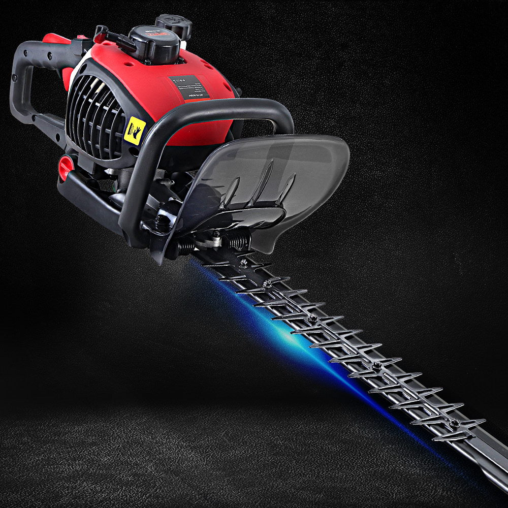 Giantz 26CC Petrol Hedge Trimmer Commercial Clipper Saw Blade Cordless Pruner