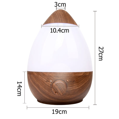 Devanti Cool Mist Air Humidifier 2.3L - Dark Wood