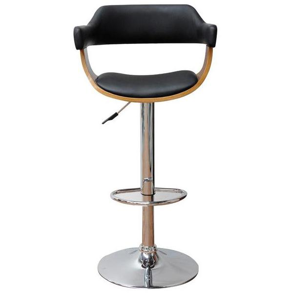 MIDNIGHT GAS LIFT BAR STOOL - Store Zone-Online Shopping Store Melbourne Australia