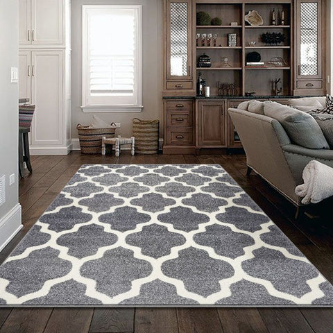 Turkish Persian Lt Grey Clara Rugs - Store Zone-Online Shopping Store Melbourne Australia
