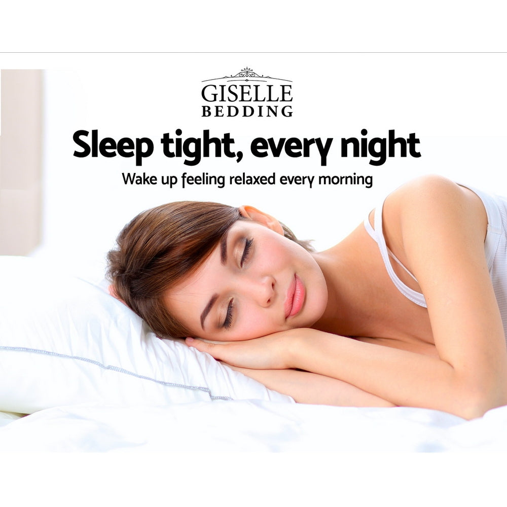 Giselle Bedding Single Size 23cm Thick Firm Mattress