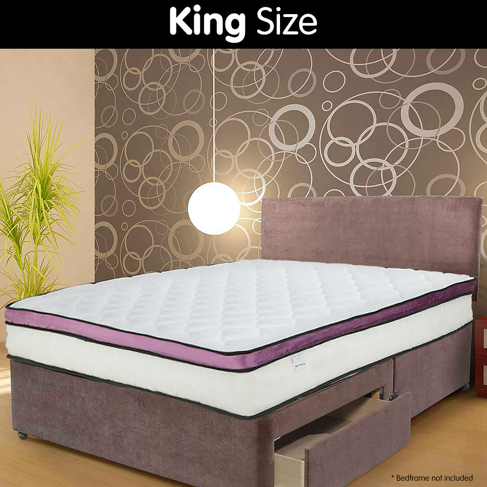 Laura Hill Memory Foam Cool Gel Infused King Mattress