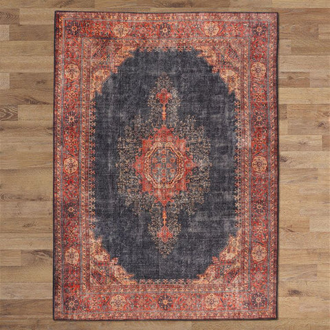 Turkish Persian Navy Luna Rugs - Store Zone-Online Shopping Store Melbourne Australia