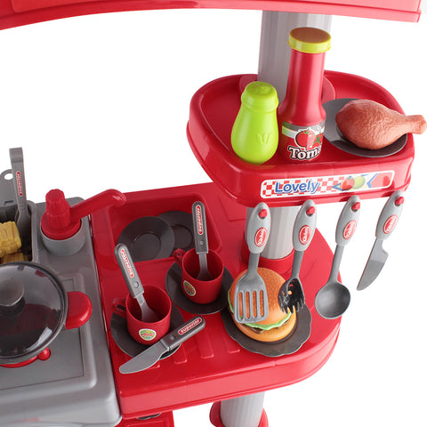 Keezi Kids Mini Chef Cookware Set - Red