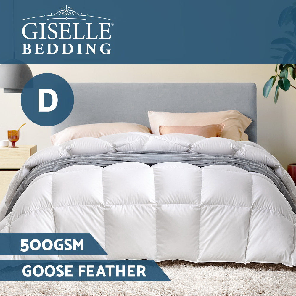 Giselle Bedding Double Size Goose Down Quilt