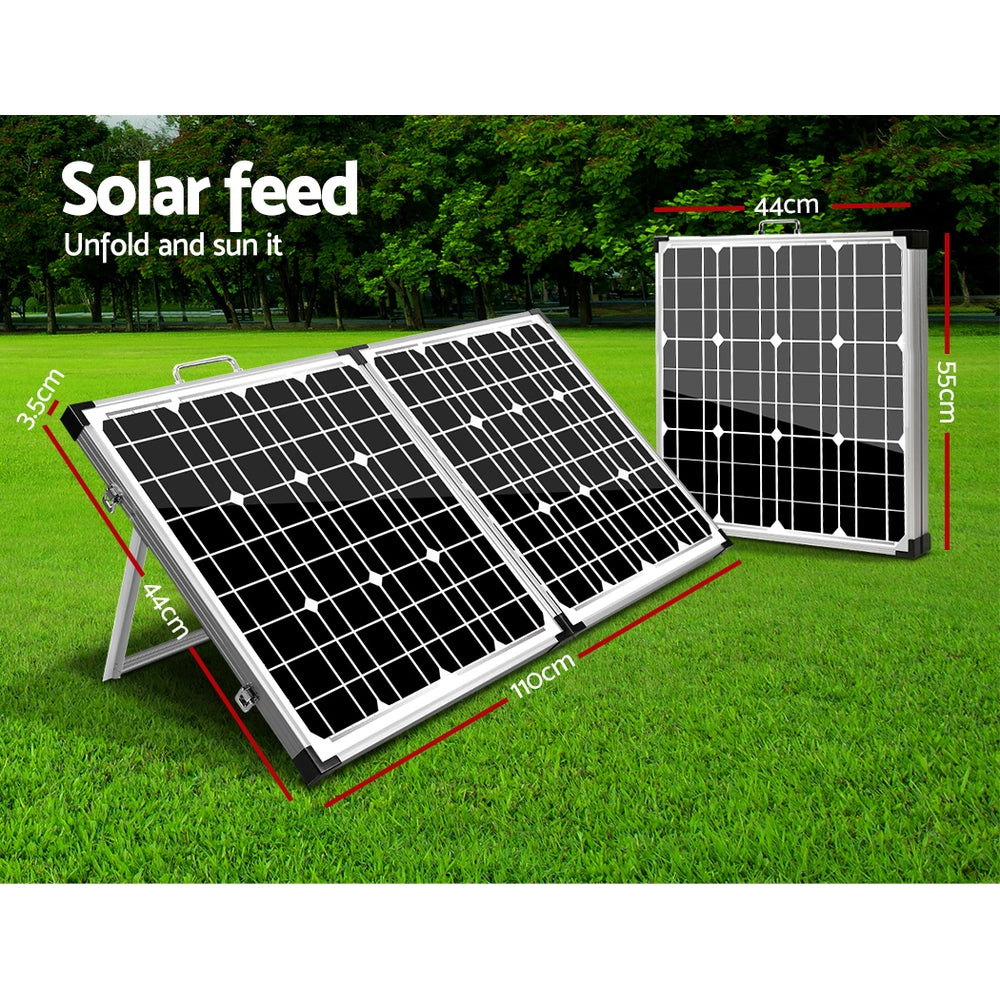 Solraiser 120W Folding Solar Panel Kit Regulator