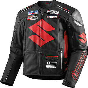 Suzuki Motorcycle Cowhide Mens Leather Jackets Suits Bikers Jackets One/Two - Store Zone-Online Shopping Store Melbourne Australia