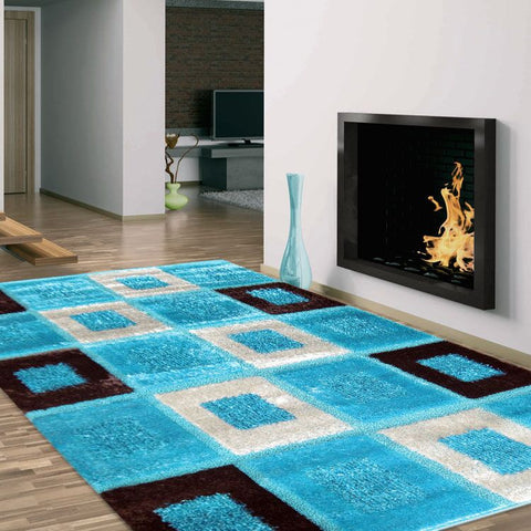 Turkish Persian Turquoise Berry Rugs - Store Zone-Online Shopping Store Melbourne Australia