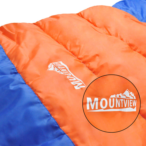 Camping Sleeping Bag Outdoor Thermal Hiking Tent King Size 220x100cm