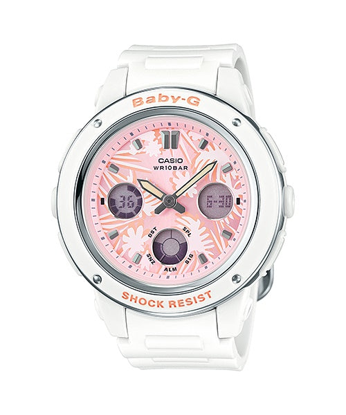 Casio Baby-G Analogue/Digital White Female Watch BGA150F-7A - Store Zone-Online Shopping Store Melbourne Australia