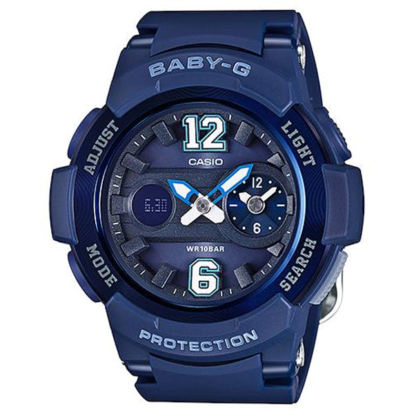 Casio Baby-G Analogue/Digital Blue Female Watch BGA210-2B2 - Store Zone-Online Shopping Store Melbourne Australia