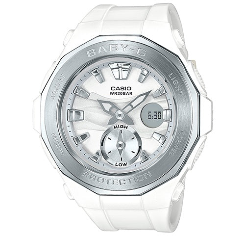 Casio Baby-G Analogue/Digital Female White Watch BGA220-7A - Store Zone-Online Shopping Store Melbourne Australia