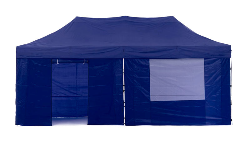 Gazebo Tent Marquee 3x6m PopUp Outdoor Wallaroo Blue