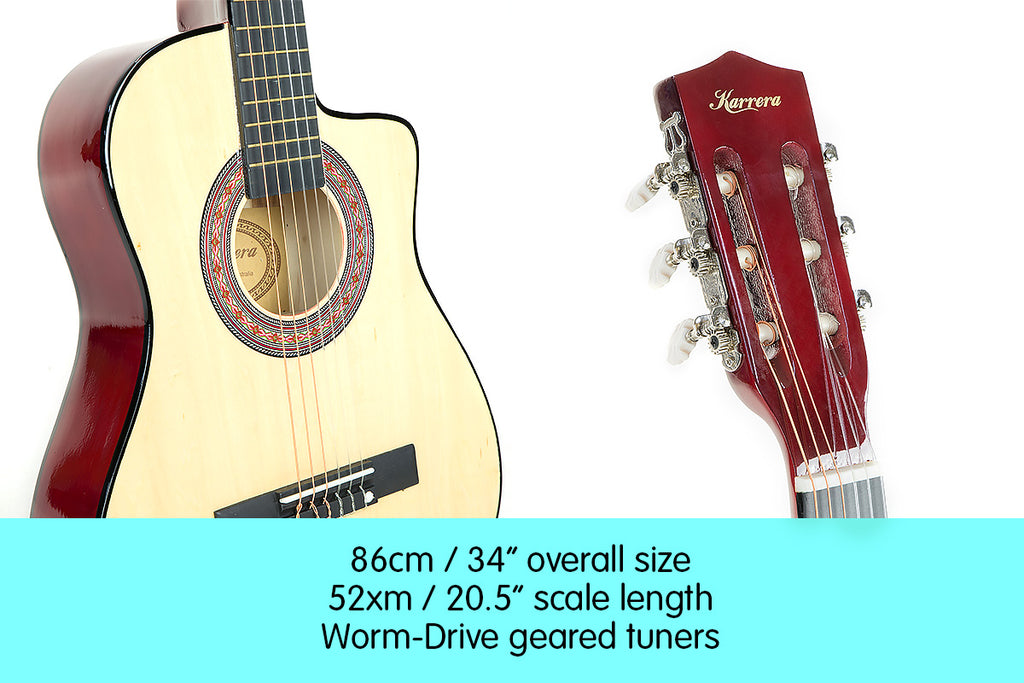 Karrera Childrens Acoustic Guitar Kids - Natural