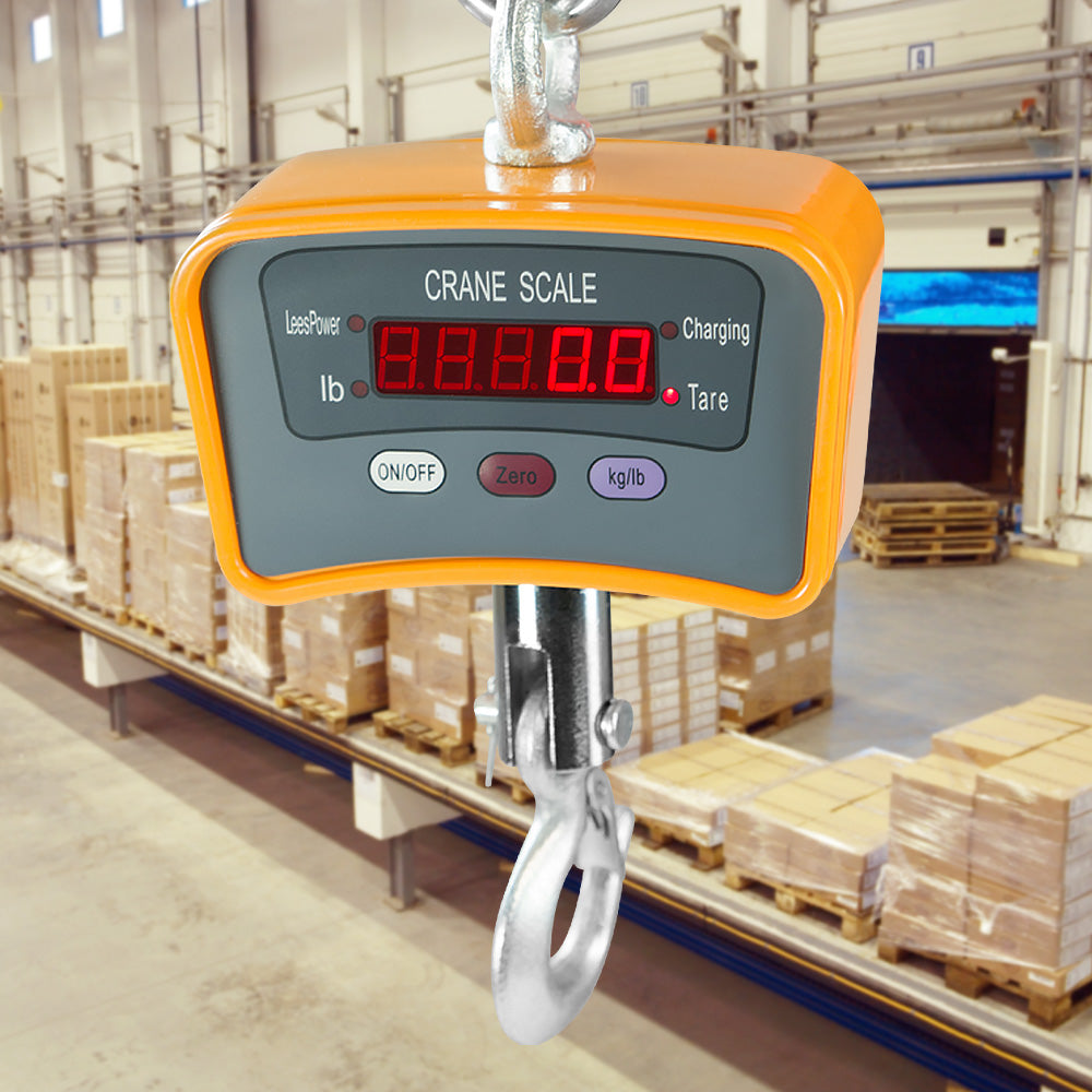 500 Kg Electronic Crane Scales Industrial Hanging Digital Weight