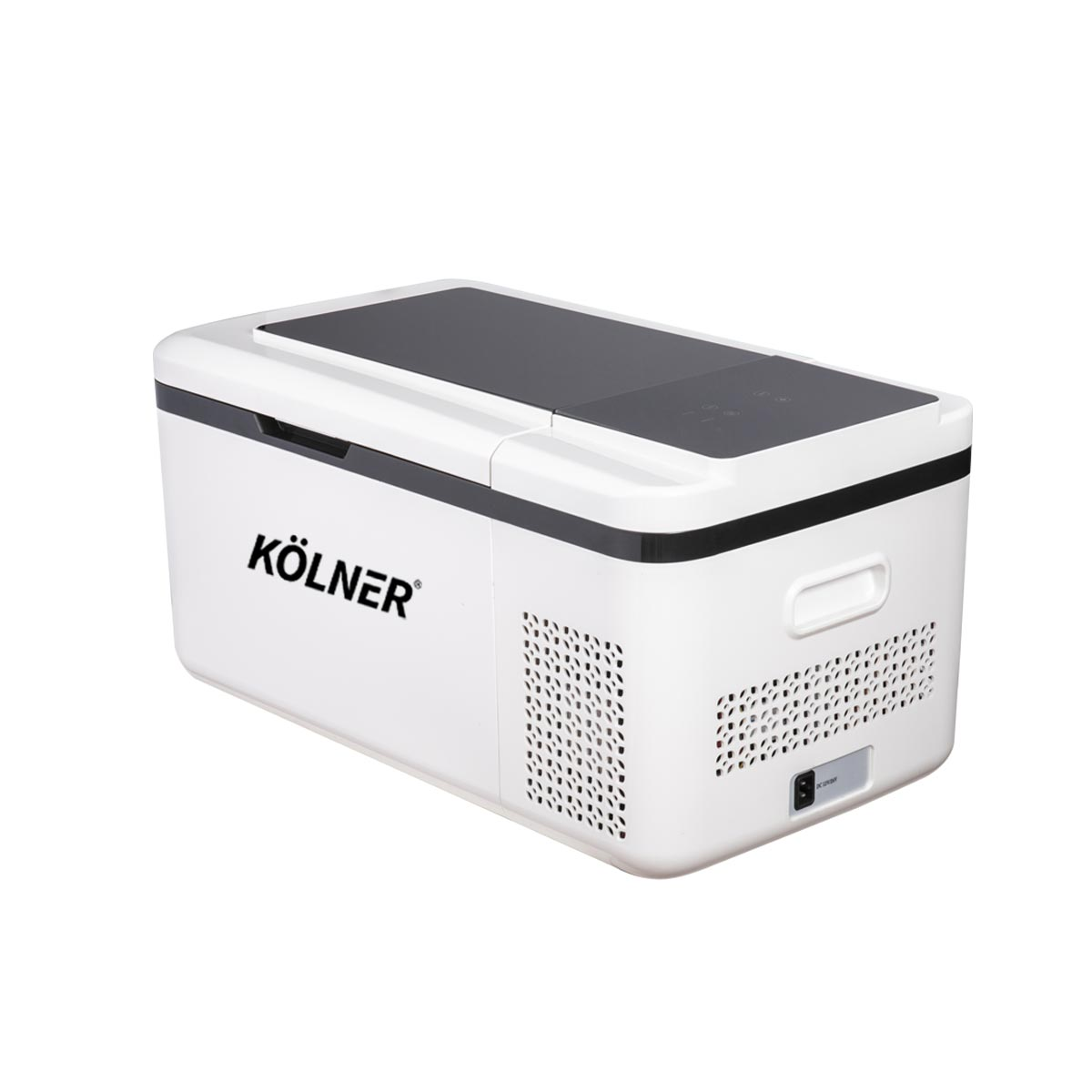 Kolner 20L Portable Fridge Cooler Freezer Camping Refrigerator - White