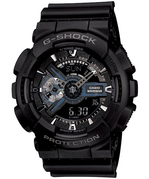 Casio G-Shock Analogue/Digital Mens Black Watch GA-110-1B GA-110-1BDR - Store Zone-Online Shopping Store Melbourne Australia