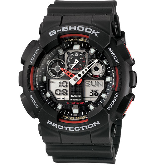 Casio G-Shock Mens Watch GA-100-1A4 GA-100-1A4DR - Store Zone-Online Shopping Store Melbourne Australia