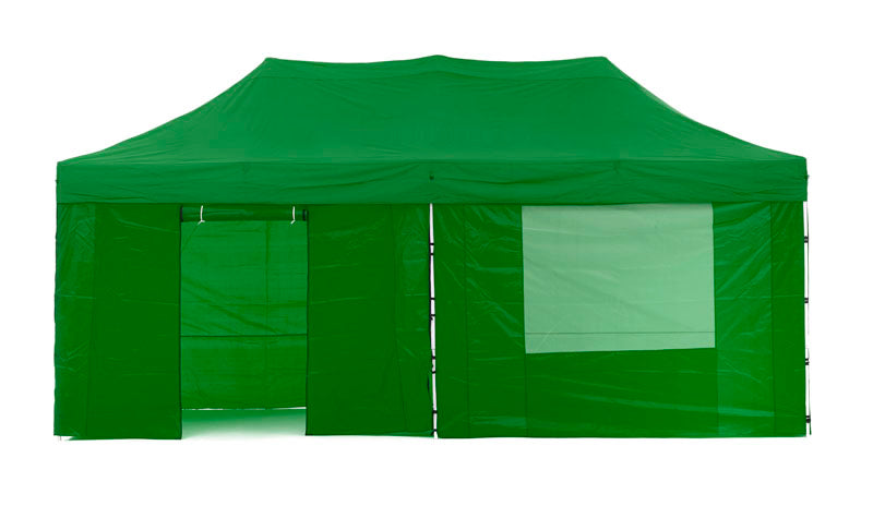 Gazebo Tent Marquee 3x6m PopUp Outdoor Wallaroo Green