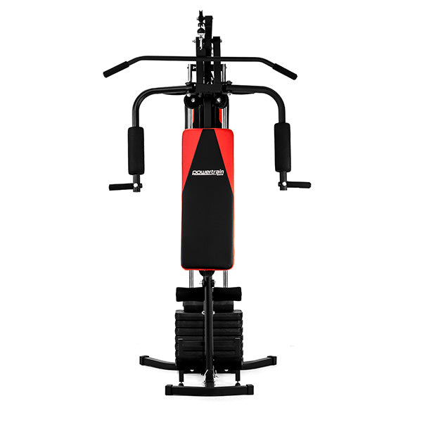 Powetrain Multi-Station Home Gym with Punching Bag - 45kg