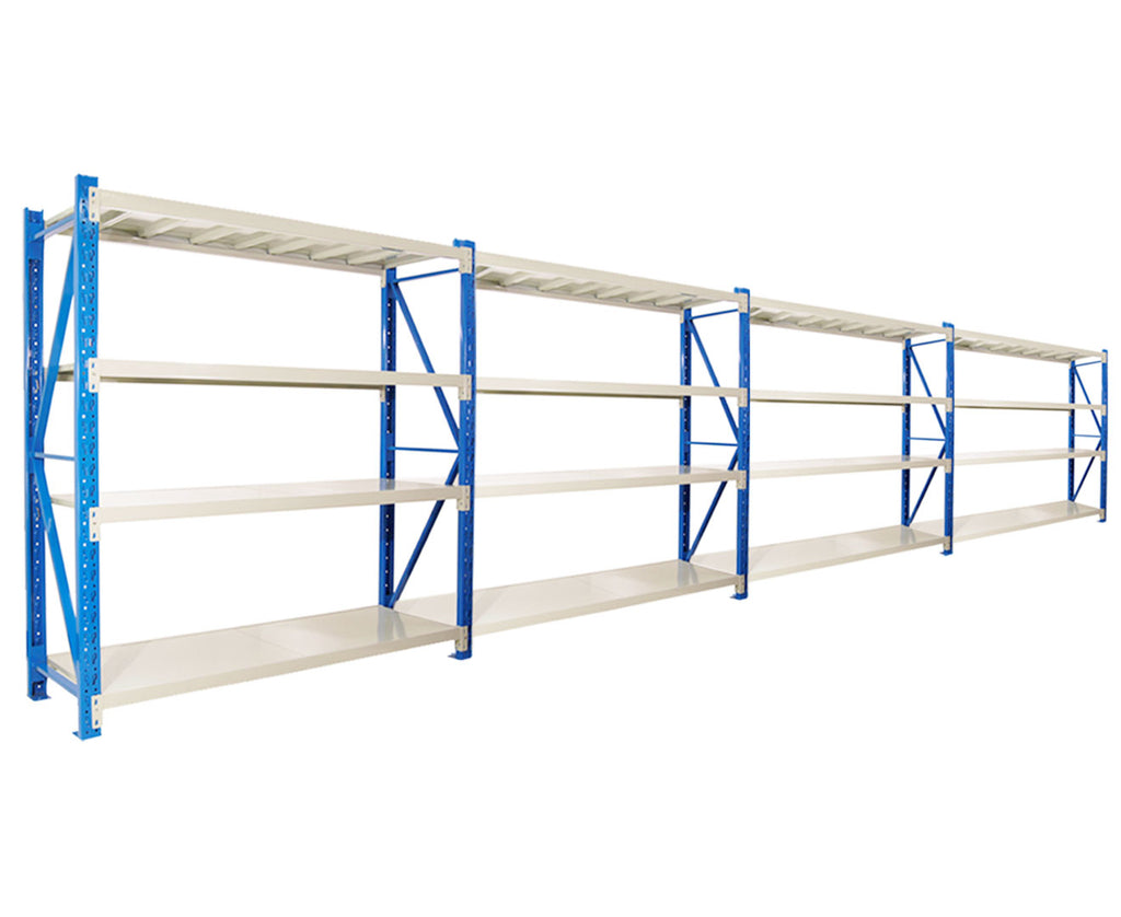 Garage Storage Steel Rack Shelving 1.5m-wide 400kg