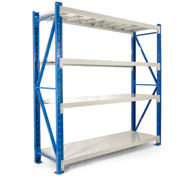 Garage Storage Steel Rack Shelving 2.0m-wide 400kg