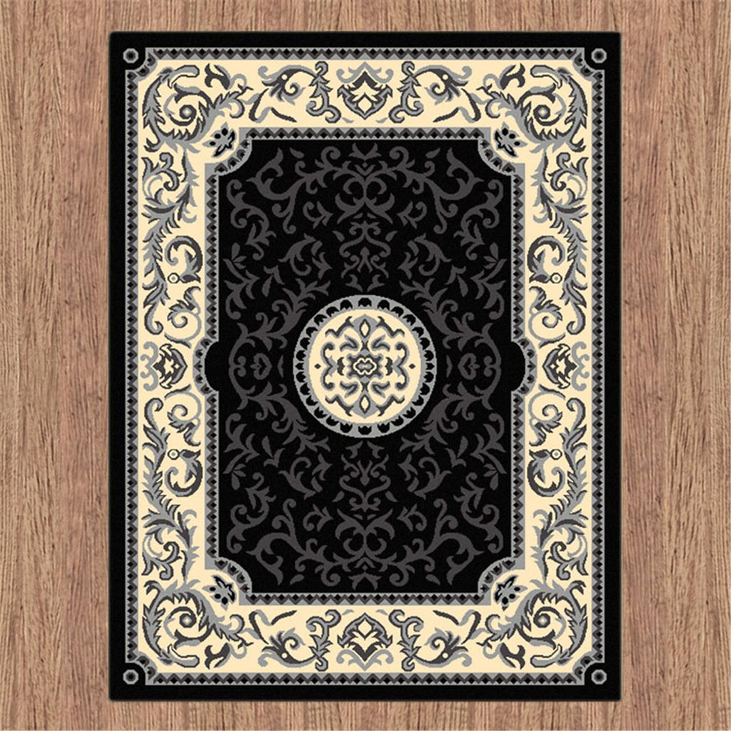 Turkish Ruby Black Rug - Store Zone-Online Shopping Store Melbourne Australia
