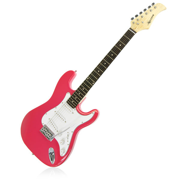 Karrera 39in Electric Guitar  - Pink