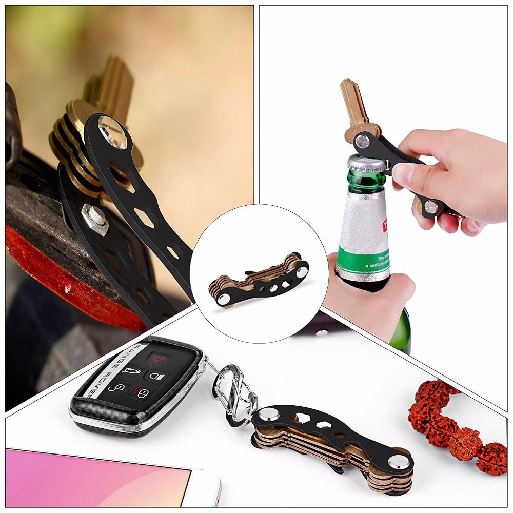 Smart Compact Pocket Key Holder and Keychain - Store Zone-Online Shopping Store Melbourne Australia