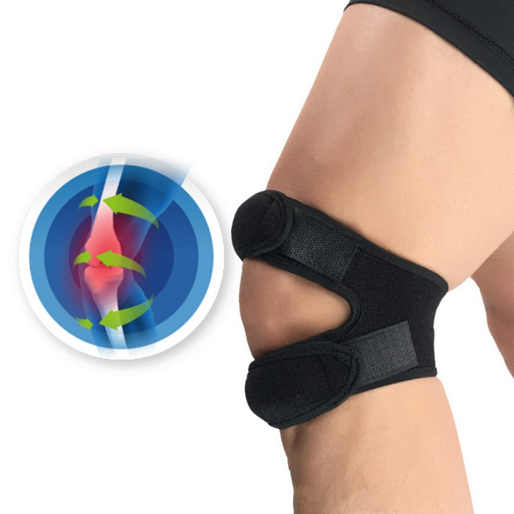 Adjustable Double Strap Knee Pain Relief and stabilizer - Store Zone-Online Shopping Store Melbourne Australia