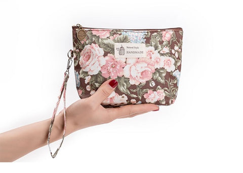Vintage Floral Cosmetic Bag - Store Zone-Online Shopping Store Melbourne Australia