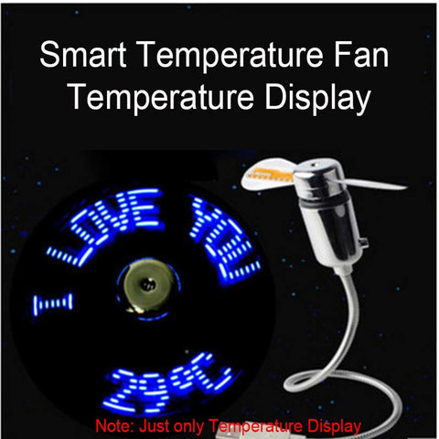 Cool Led usb Fan Clock - Store Zone-Online Shopping Store Melbourne Australia