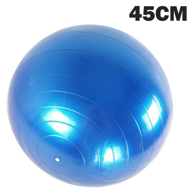 YOGA/PILATES ANTI-BURST FITNESS BALL - Store Zone-Online Shopping Store Melbourne Australia