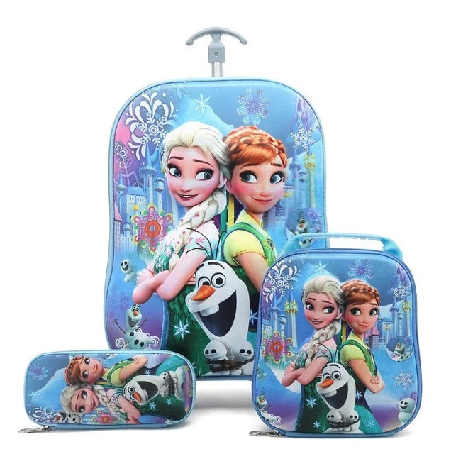 kids Travel suitcase on 3D wheels - Store Zone-Online Shopping Store Melbourne Australia