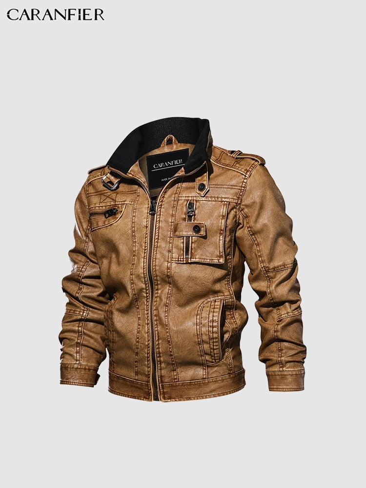 "The ""Captain"" Faux Leather Aviator Jacket - Multiple Colors - Store Zone-Online Shopping Store Melbourne Australia"